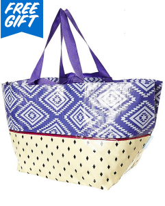 SURFSTITCH TARP BEACH BAG - AZTEC SPLICE